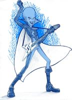 Megamind Rock on by akuma-neko