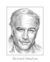 Richard Dreyfuss by gregchapin