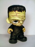 Frankenstein's Monster Munny by Flame-Ivy