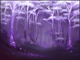 Sketchpaint Forest by jezebel