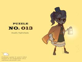 Puzzle 013 - Deadly Nightshade by nattherat