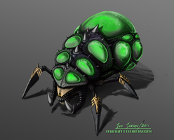 Starcraft 2 - Baneling by InsaneIVI