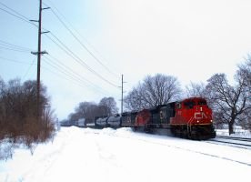 CN manifest eastbound by wolvesone