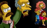 Flanders asesinando a sr. Burns by guilleapi