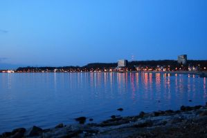 Lights of the small town II by Dorian-Gray7
