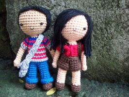 Amigurumi Love by oddSpaceball