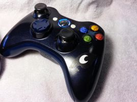 Princess Luna Custom Xbox 360 Controller - Rev 2 by Nightowl3090