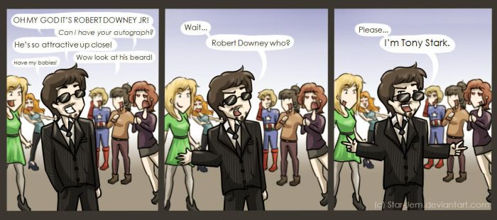 Robert Downey...who? by Star-Jem