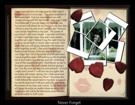 Never Forget by Mezrella
