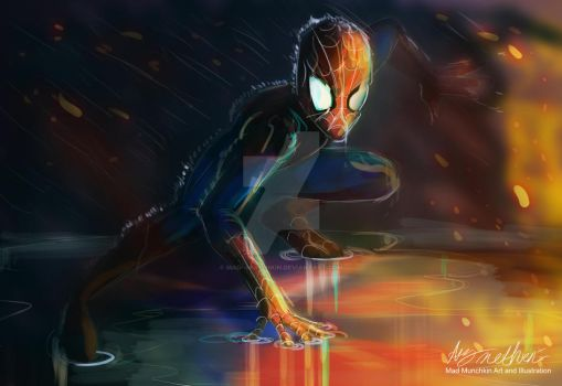 Spiderman by Mad--Munchkin