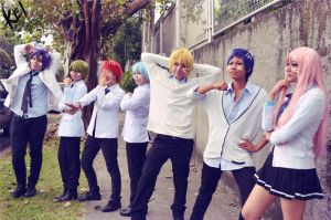 KNB: Kiseki no sedai LOL by bana2xsan