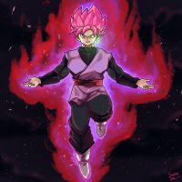 Super Saiyan Rose by smokeragon