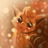 Shimmering Vulpix by SuperArtNinja