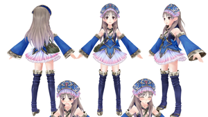 MMD Totori Grown up ver by ChocoKobato