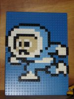 Ice Man Lego Mosaic by rickcressen