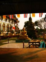 Statue of Buddha by placid9