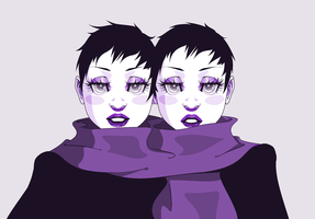 Twins by naanan