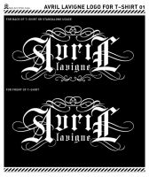 Logo for Avril Lavigne T-shirt by malaclypse2000