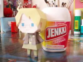 APH papercraft - America by Demmi-chan