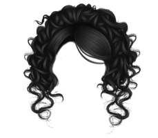 Pretty Curls Black by hellonlegs