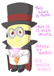 the heart of the magic Minion by FeralSonic