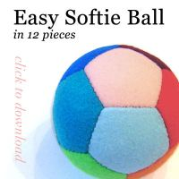 Easy Softie Ball Pattern by quexthemyuu
