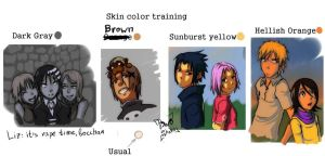Color training by Bwohaha