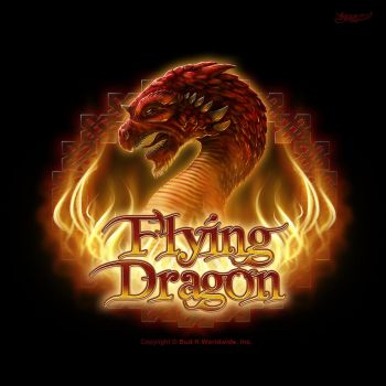 Flying Dragon Logo by kerembeyit