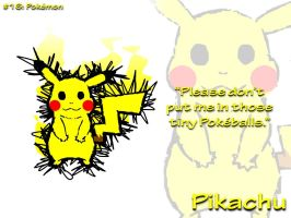 AMPicture #16: Pikachu by AmpleDeviant