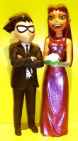 Prom Night Starfire and Robin by TeenTitans4Evr