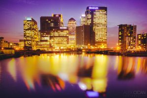 Canary Wharf by sican