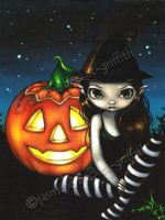 Halloween Night by jasminetoad