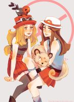 Pokemon Girls by Grimegan-BT