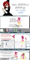 MMD MME Furshader tutorial by Your-friend-Sushi