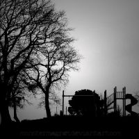 abandoned playground by monstermagnet
