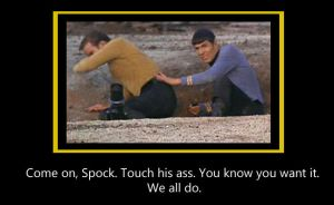 Come on, Spock by wackamotto