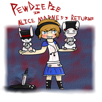 :: Pewds Alice Madness Returns :: Speedpaint :: by Fluffuu