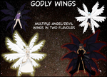 Godly Wings by BellaMbrianna