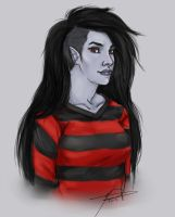Marceline Lookin BAMF by MelodicMadness