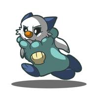 IT'S A GIIIRRLL Oshawott by BatLover800