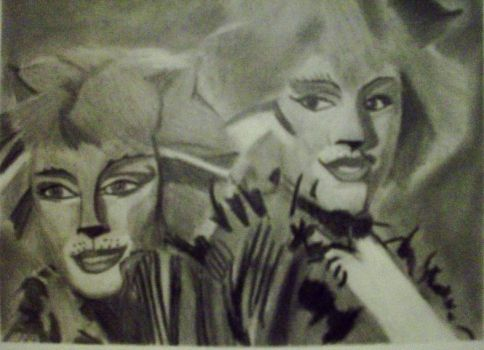 Demeter and Bombalurina by unsinkable-spirit