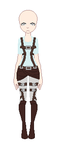Attack On Titan Outfit Base by MakaChancx