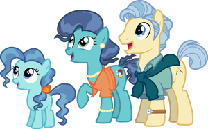 Petunia And Her Parents by Uponia