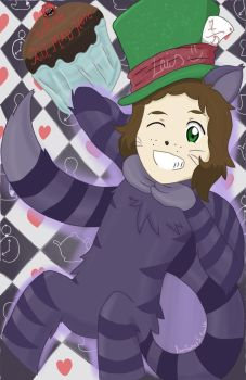 Cheshire Cat Harry Styles by OneDirectionFanJohn