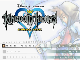 Kingdom hearts final mix by Arshes91
