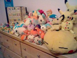 Pokemon Toy Collection by FizzyBubbles
