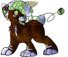 Sweet Tooth Adopt by intoxicated-with-paw
