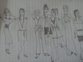 Ladies in fashion7 by andrea-gould