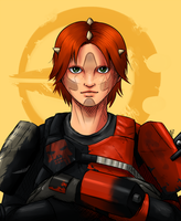 ToR - The leader of Havoc Squad by saurien