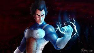 Vegeta - Dragon Ball Z by EricHenrique